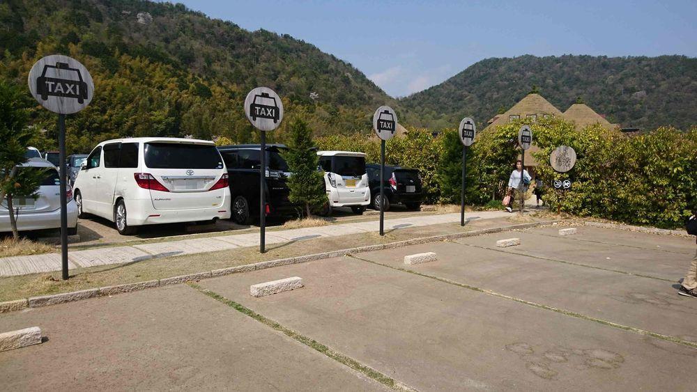 ラコリーナ近江八幡の駐車場