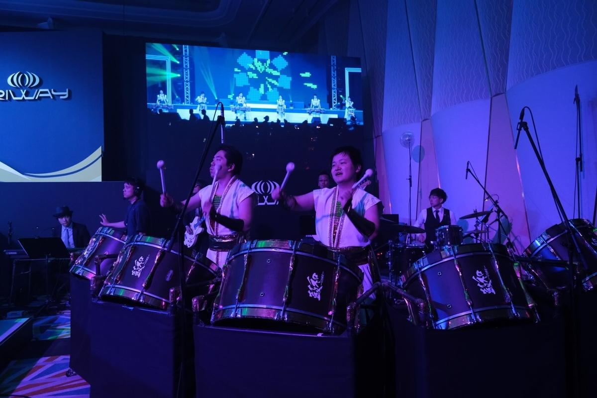 RIWAY JAPAN一周年ガラ・ディナーオープニングアクト
