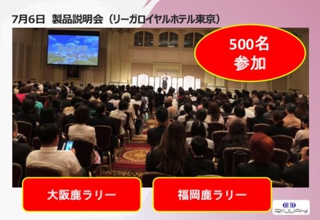 RIWAY JAPAN製品説明会(東京)
