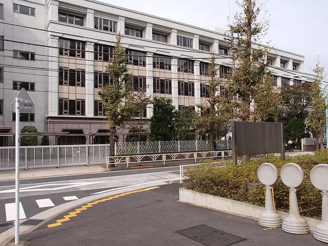 東京都女子-東京女学館校舎