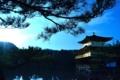 京都新聞写真コンテスト 陽に映える金閣寺