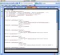 カーソル位置表示機能がついたgmacs