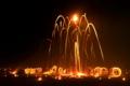 火祭りの夜