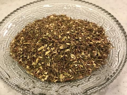 グリーンルイボスティーの茶葉