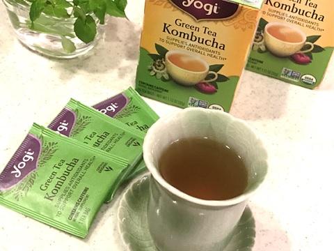 Yogi Tea グリーンティーコンブチャ