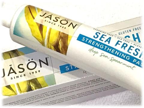 Jason Natural, Sea Fresh, 歯を白くする歯磨き粉