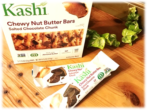 Kashi, Chewy Nut Butter Bar ・Solted Chocolate Chunk