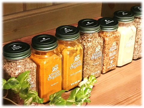 Simply Organic ☆ Herbs & Spices