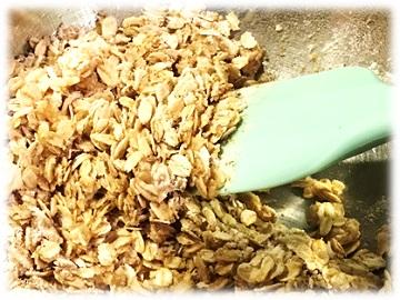 手作りグラノーラ レシピ3