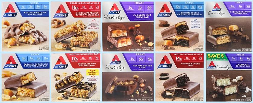 Atkins Nutritional Bars ★ アトキンス栄養バー