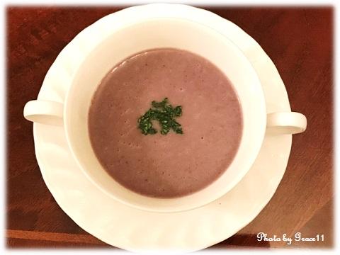 シャドークイーンのポタージュスープ