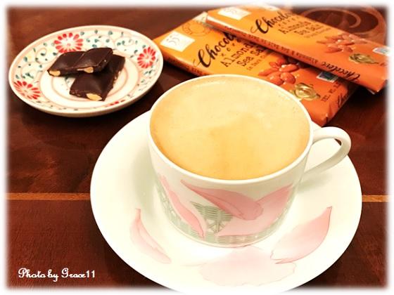 コーヒーブレイク wirh チョコレート
