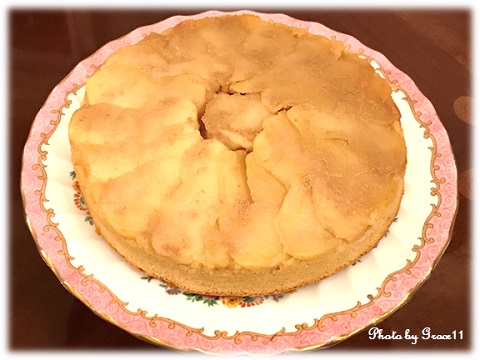アップルカラメルケーキ