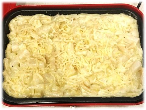 レシピ☆全体にシュレッドチーズをかける