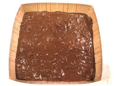 チョコレートブラウニー 焼く前