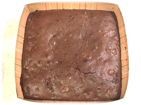 チョコレートブラウニー 焼き上げり