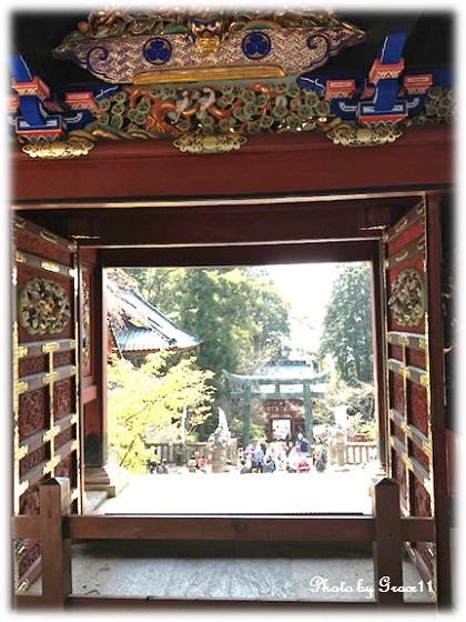 久能山東照宮 唐門(重要文化財)
