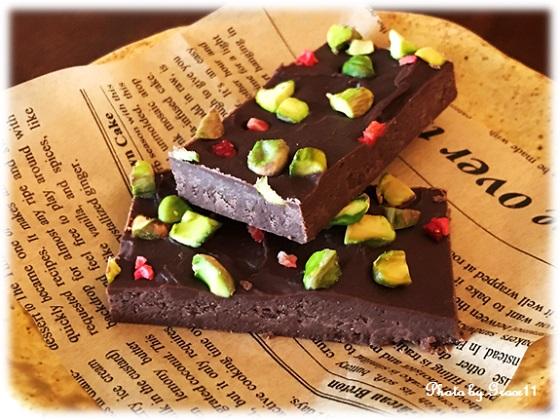 ヘルシーで美味しい手づくりビーガンチョコレート♪