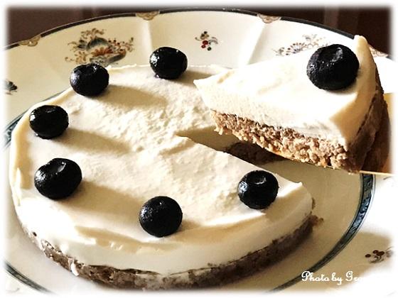 ヘルシースイーツ♪ 豆腐&ヨーグルトのレアチーズ風ケーキ