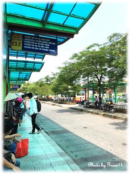 ロンビエンバスターミナル in ハノイ