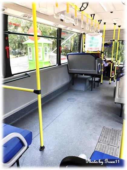 ローカル路線バス in ハノイ