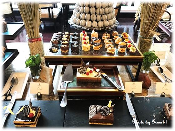 チョコレートビュッフェ1  Le Club in Hanoi