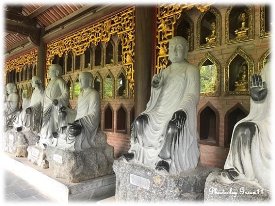 バイディン寺☆五百羅漢像