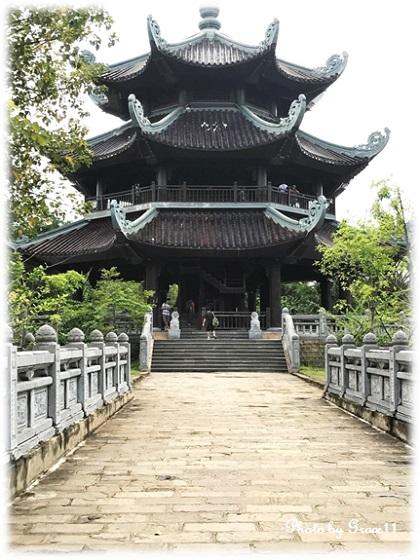 バイディン寺☆鐘楼
