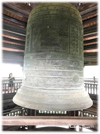 バイディン寺☆鐘楼の梵鐘