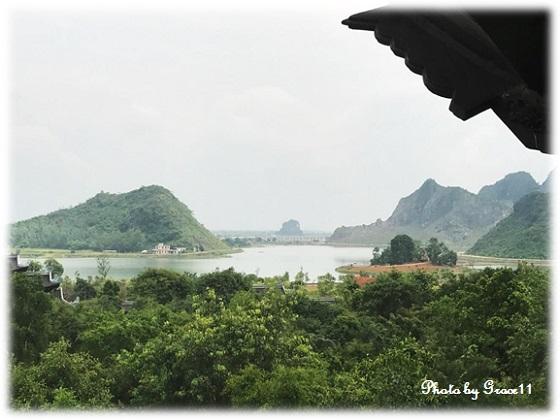 バイディン寺☆鐘楼からの眺め南方向