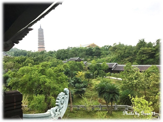 バイディン寺☆鐘楼からの眺め 北東方向
