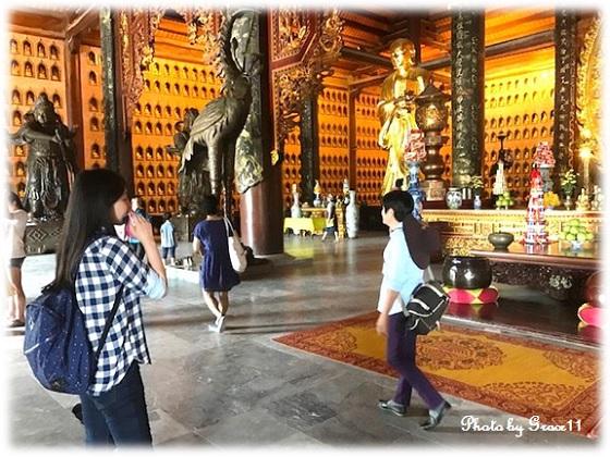 バイディン寺☆釈迦仏殿の中