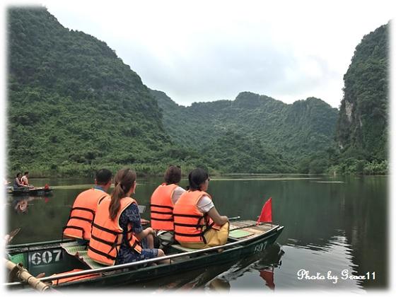 チャンアン景勝地☆岩山が連なる風景