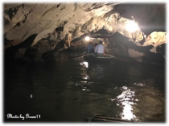 チャンアン景勝地☆洞窟の中