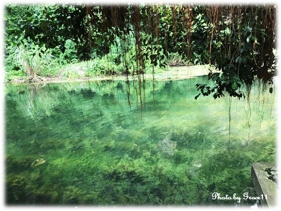 チャンアン景勝地☆寺院めぐりの途中の透き通るような美しい川の水