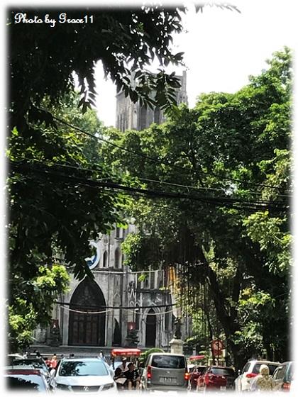ハノイの街のシンボル「Nha Tho Lon(大教会)」