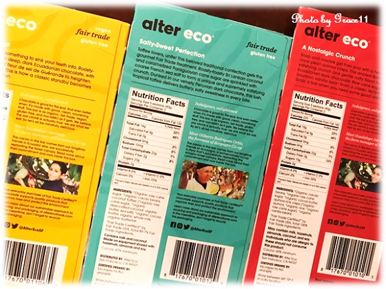 Alter Eco☆Fair Trade Organic Chocolate