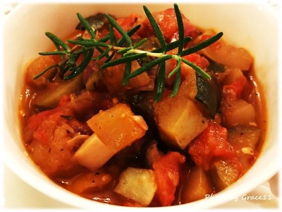 南仏の家庭料理☆夏野菜のラタトゥイユ