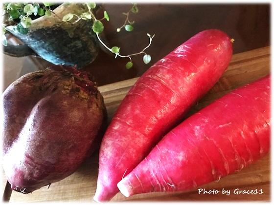 ポリフェノールたっぷりの赤い野菜