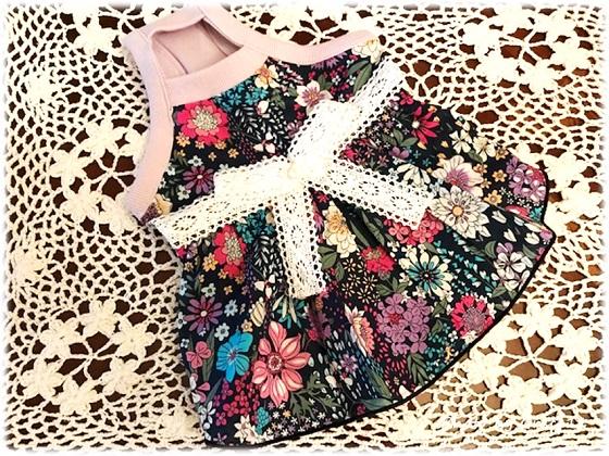 Creemaで購入した愛犬のドレス♪