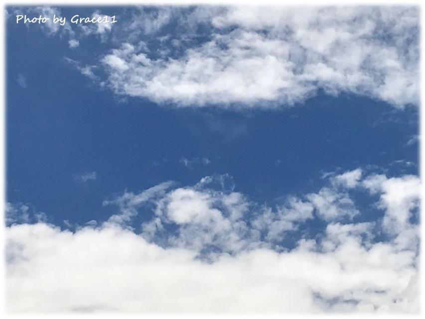 2020年7月27日の朝の空