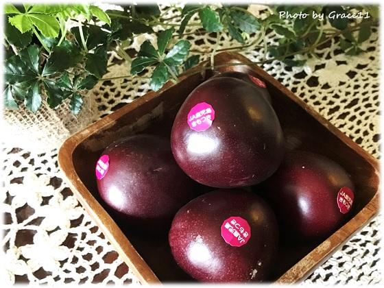 鹿児島産のパッションフルーツ