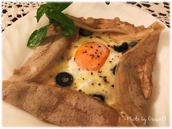 ブルターニュ地方の郷土料理『galette』