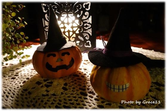小さなかぼちゃの Jack O' Lantern's