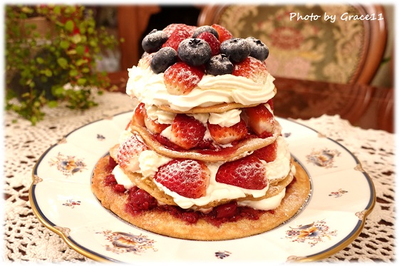グルテンフリー パンケーキ オールドファッションケーキ
