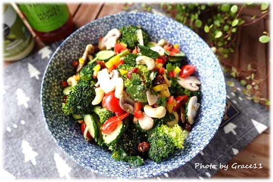 ブロッコリーのハニーマスタードサラダ