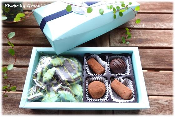 ショコラティエ・エリカのミント&トリュフチョコレート