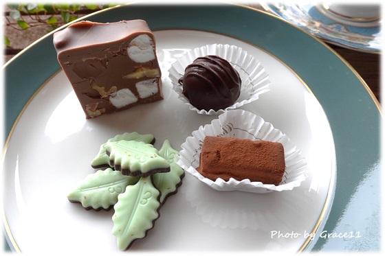 ショコラティエ・エリカのチョコレートで至福のコーヒータイム♪