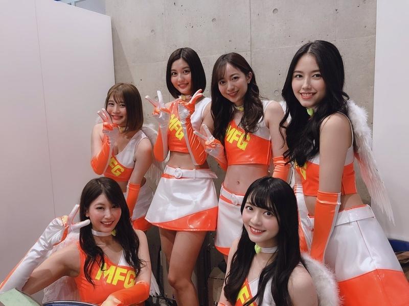 MFGエンジェルス 2019 林ゆめさん 農海姫夏 沢すみれさん 山口はのん 橘