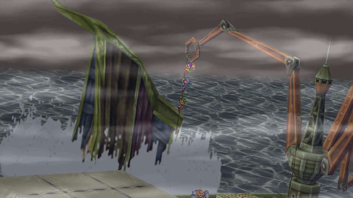 幽霊船から脱出
